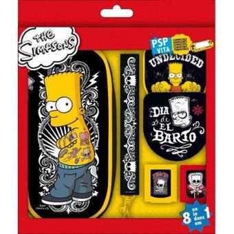 Indeca Pack de Acessórios The Simpsons PSP / PS Vita