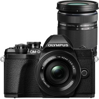 Olympus OM-D E-M10 Mark III + M.Zuiko Digital ED 14-42mm f/3.5-5.6 EZ + M.Zuiko Digital ED 40-150mm f/4-5.6 R - Preto