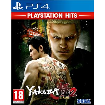 Jogo Yakuza: Kiwami 2 - Playstation Hits - PS4