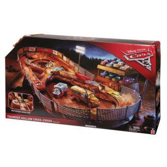Disney Cars 3 Circuito Thunder Hollow - Mattel