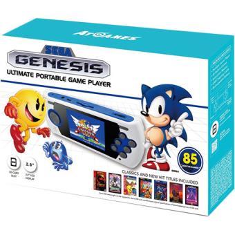 Consola Retro Portatil Megadrive Ultimate 85 Jogos 2017