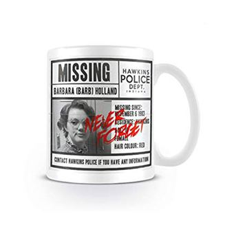 Caneca Stranger Things: Missing Barb
