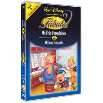 Walt Disney Fábulas Vol 5 - DVD