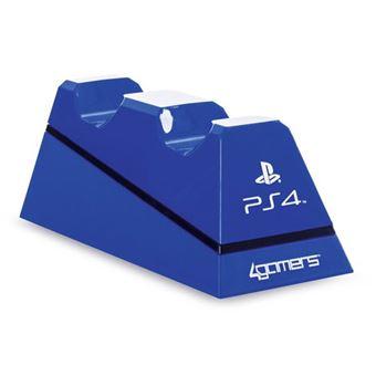 Carregador Duplo para Comandos PS4 - Azul