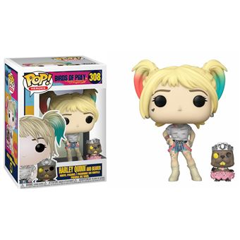 Funko Pop! Birds of Prey: Harley Quinn and Beaver - 308
