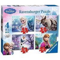 Puzzle 4 em 1 Frozen