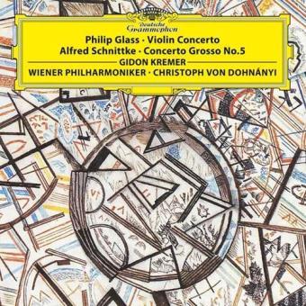 Glass | Violin Concerto & Schnittke | Concerto Grosso No. 5 (LP)