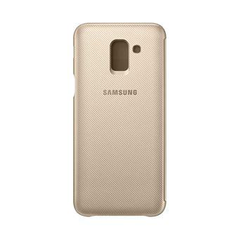 Capa Samsung Wallet para Galaxy J6 - Dourada