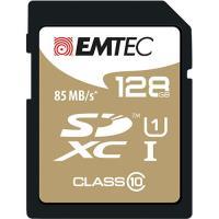 Emtec Cartão SDXC Classe 10 Gold+ 85MB/s - 128GB