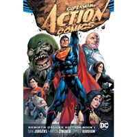 Superman action comics rebirth delu