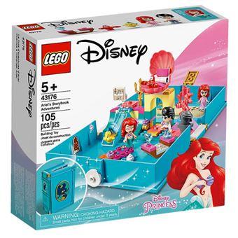 LEGO Disney Princess 43176 Aventuras do Livro de Contos da Ariel