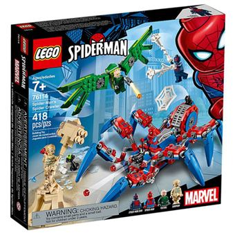 LEGO Marvel Super Heroes 76114 O Spider Crawler do Spider-Man