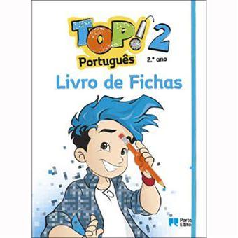Livro de Fichas - TOP! Português , 2º Ano
