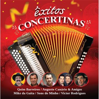Êxitos Concertinas - CD