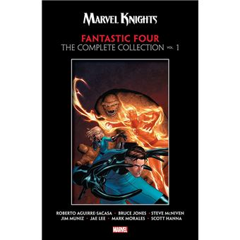 Marvel Knights Fantastic Four By Aguirre-Sacasa, Mcniven & Muniz