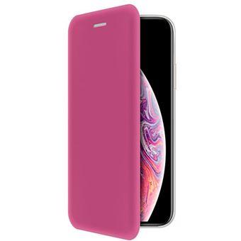 Capa 4-OK Book Shell para iPhone X/XS - Rosa