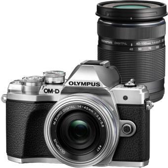 Olympus OM-D E-M10 Mark III + M.Zuiko Digital ED 14-42mm f/3.5-5.6 EZ + M.Zuiko Digital ED 40-150mm f/4-5.6 R - Prateado