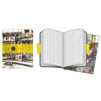 Moleskine Cadernos Quadriculados Market XL Paul Wang