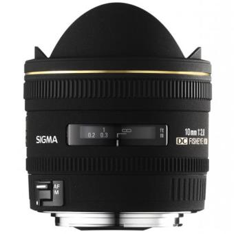 Sigma Objetiva Fisheye 10mm f/2.8 EX DC HSM (Canon)