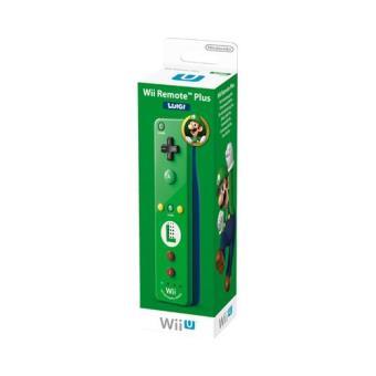 Wii / Wii U Remote Plus  - Edição Especial Luigi