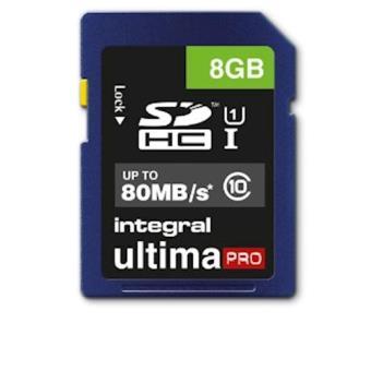 Integral 8GB SDHC UltimaPro 8GB SDHC UHS-I Class 10 cartão de memória