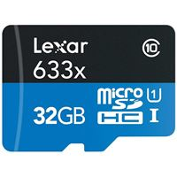 Cartão Memória MicroSDHC Lexar LSDMI032-633X V30 633x - 32GB