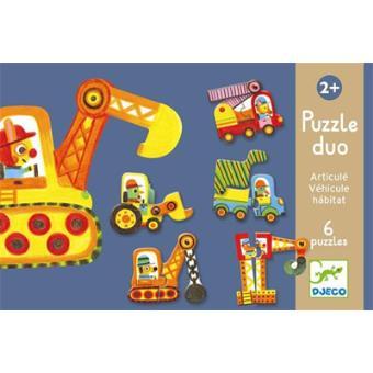 Puzzle Duo - Articulo Veículos