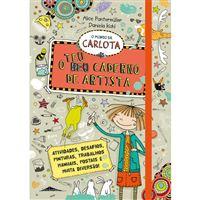 O Mundo da Carlota: O Teu Caderno de Artista