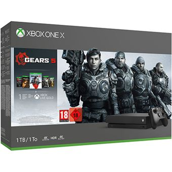 Pack Consola Xbox One X - 1 TB – Gears 5