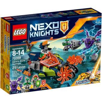 LEGO Nexo Knights 70358 Destruidor de Pedras de Aaron