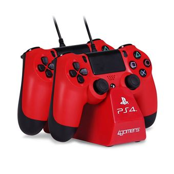 Twin Play & Charge - Red - PS4