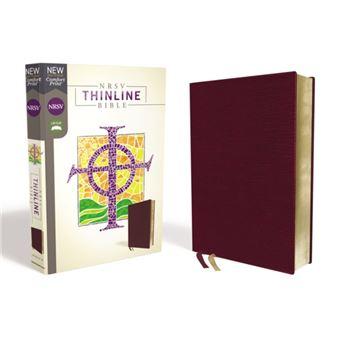 Nrsv, thinline bible, bonded leathe