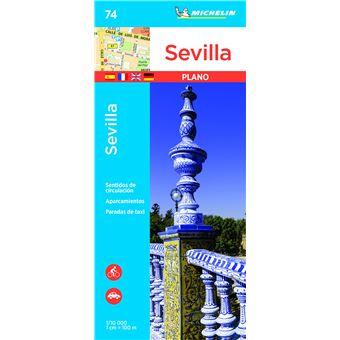 Plano Michelin Pleg 74 - Espana: Sevilla