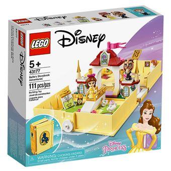 LEGO Disney Princess 43177 Aventuras do Livro de Contos da Bela