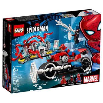 LEGO Marvel Super Heroes 76113 O Resgate de Mota de Spider-Man