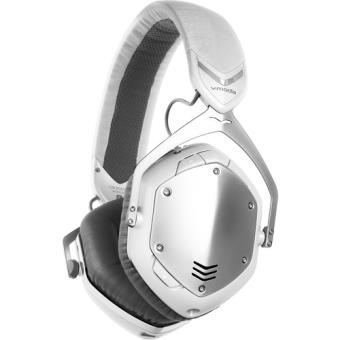 Auscultadores Bluetooth V-Moda Crossfade - Branco | Prateado