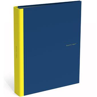 Dossier 2 Argolas Quattro Colori Azul Escuro A4
