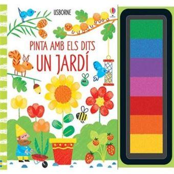 Pinta amb els dits un jardi
