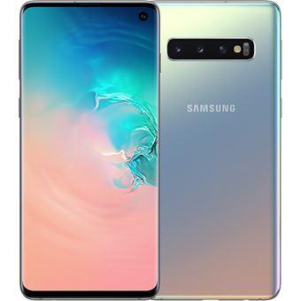 Samsung Galaxy S10 - G973FZ - 128GB - Prateado Prisma