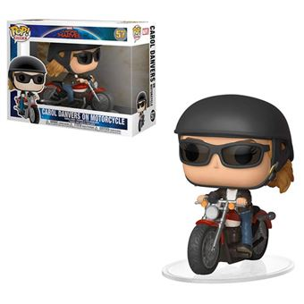 Funko Pop! Captain Marvel: Carol Danvers on Motorcycle - 57