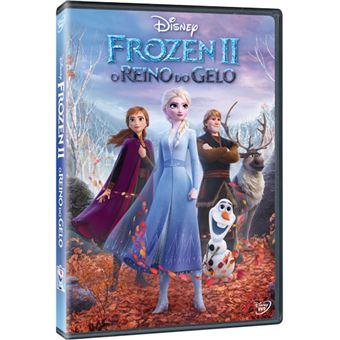 Frozen 2: O Reino do Gelo - DVD
