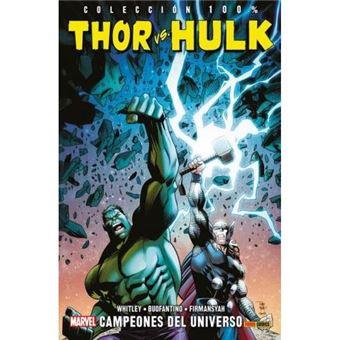 Thor vs hulk-campeones del universo