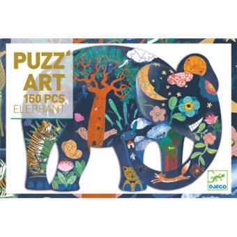 Puzzle Elephant 150 Peças - Djeco