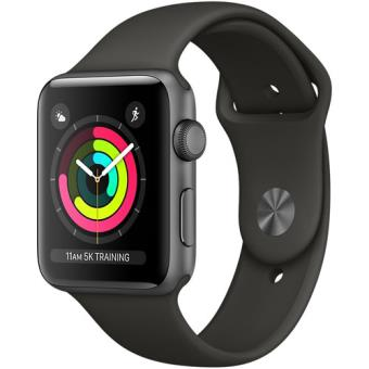 Apple Watch Series 3 42mm - Cinzento Sideral | Bracelete Desportiva - Cinzento