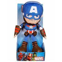 Peluche Marvel Action Captain America - 25 cm - Famosa