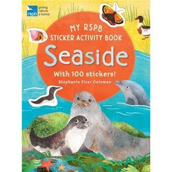 My rspb sticker activity book: seas