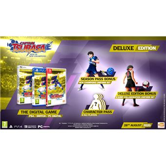 Captain Tsubasa: Rise of New Champions Oliver y Benji - Deluxe Edition - PS4