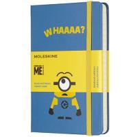 Caderno Pautado Moleskine Minions - Whaaaa? Bolso