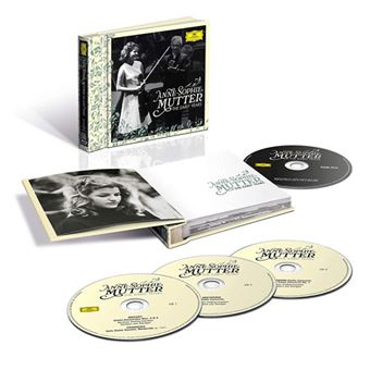 Anne-Sophie Mutter: The Early Years - 3CD + Blu-ray