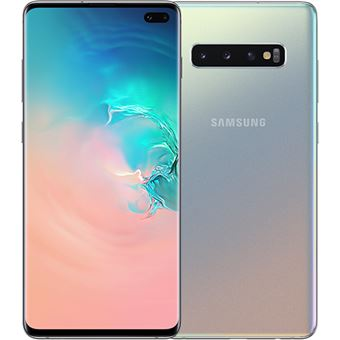 Samsung Galaxy S10+ - G975FZ - 128GB - Prateado Prisma